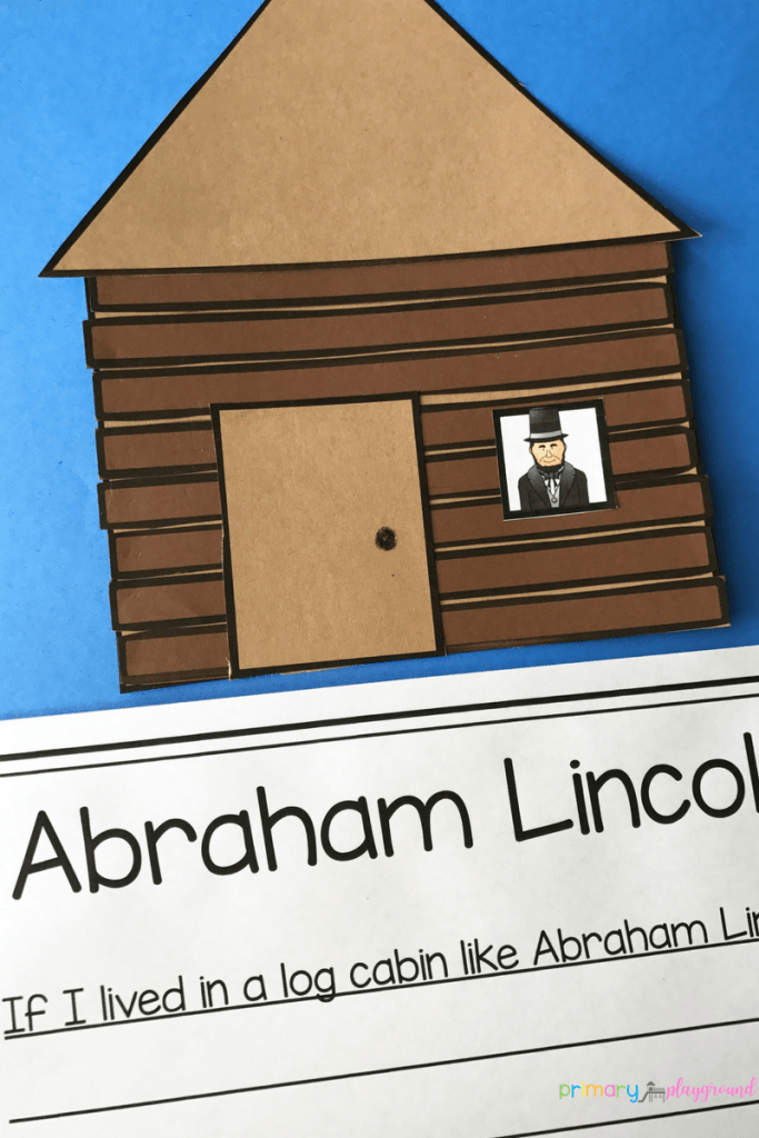 Lincoln Log Cabin Craft