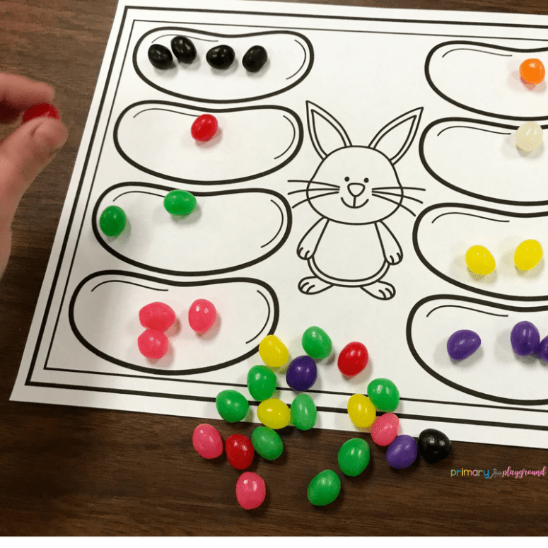 Jellybean Jumble Spring Minute To Win It In The Classroom
