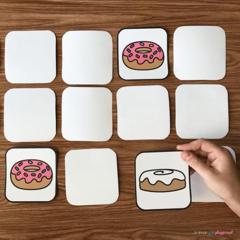 Donut Memory Game
