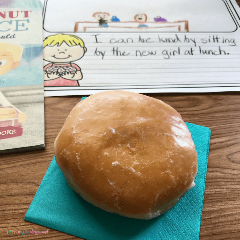 Literacy Snack Idea Kindness + Free Printable The Jelly Donut Difference