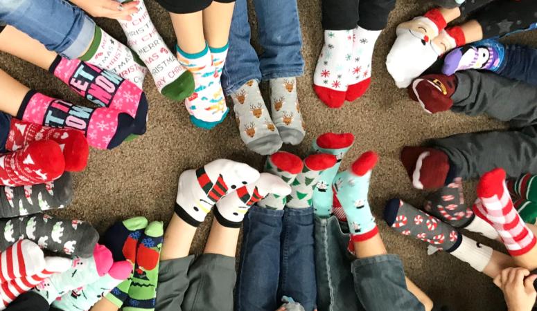 Class Holiday Sock Exchange