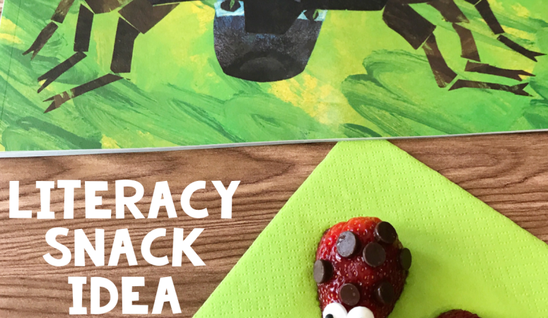 Literacy Snack Idea Ladybug + Free Printable