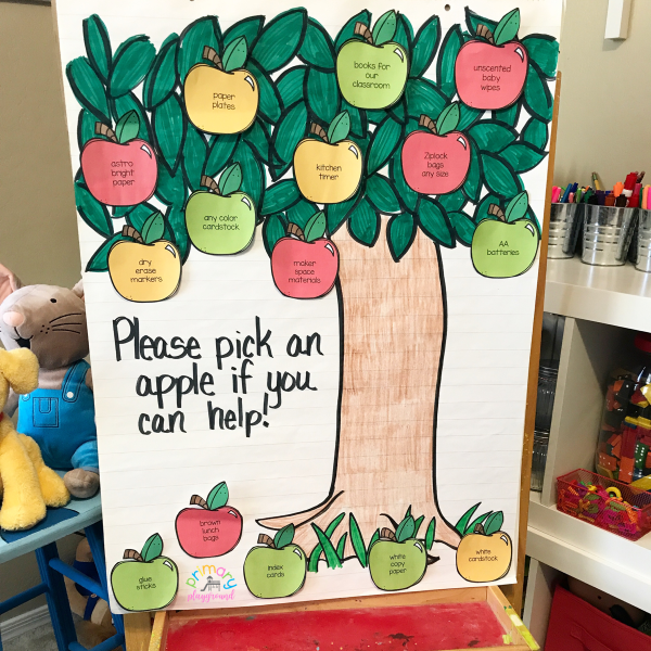 Back To School Donation Tree