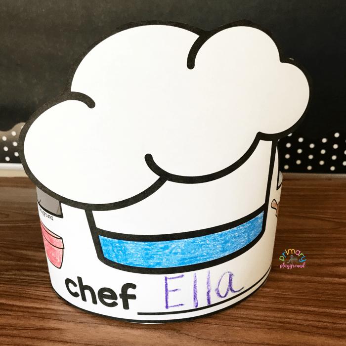 Free Printable Chef Hat