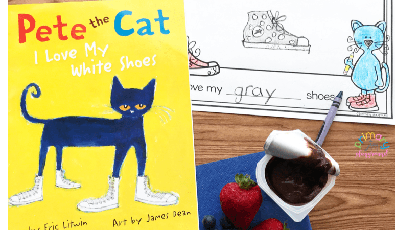 Literacy Snack Idea Shoes + Free Printable