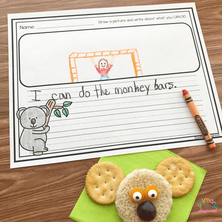 Literacy-Snack-Idea-Koala-Free-Printable - The Koala Who Could printable