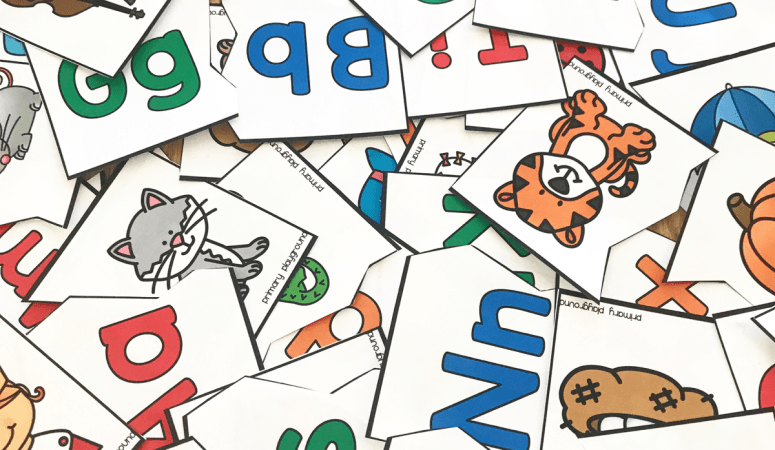 Free Printable Beginning Sound Puzzles