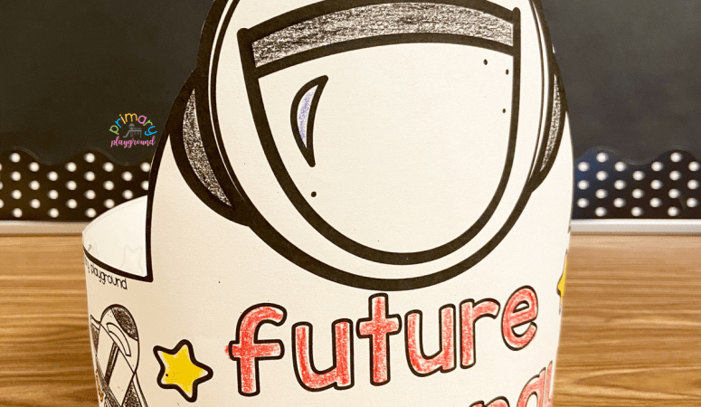 Free Printable Future Astronaut Hat