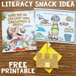iteracy Snack Idea Sandcastle