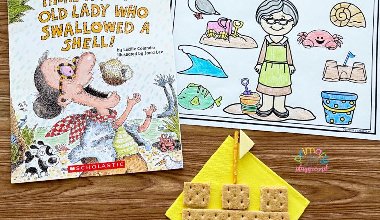 Literacy Snack Idea Sandcastle