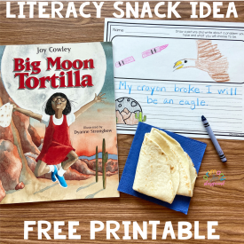 Literacy Snack Idea Big Problems