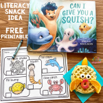 Literacy Snack Idea Squishes