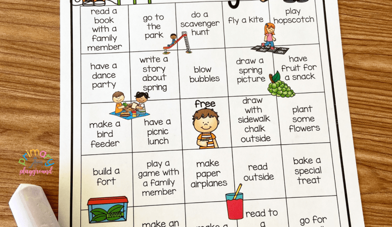 Free Printable Spring Break Bingo