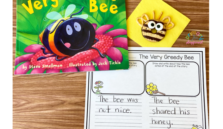 Literacy Snack Bee Read-Aloud