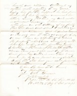 Joseph Greenhut, 82nd IL Inf. Co. K, Resignation Letter.