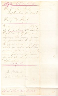 Wolf & Hart Attorney Letter on behalf of Linz's widow. Click to view full-size image.