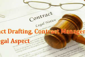 Contract Drafting, Contract Management and Legal Aspect