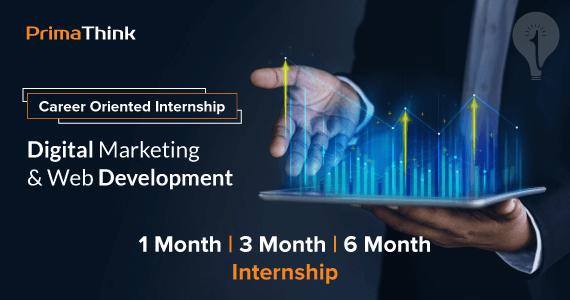 Digital Marketing Internship in Nagpur PrimaThink