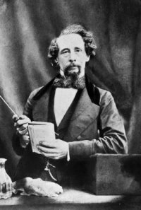 a photo of Charles Dickens