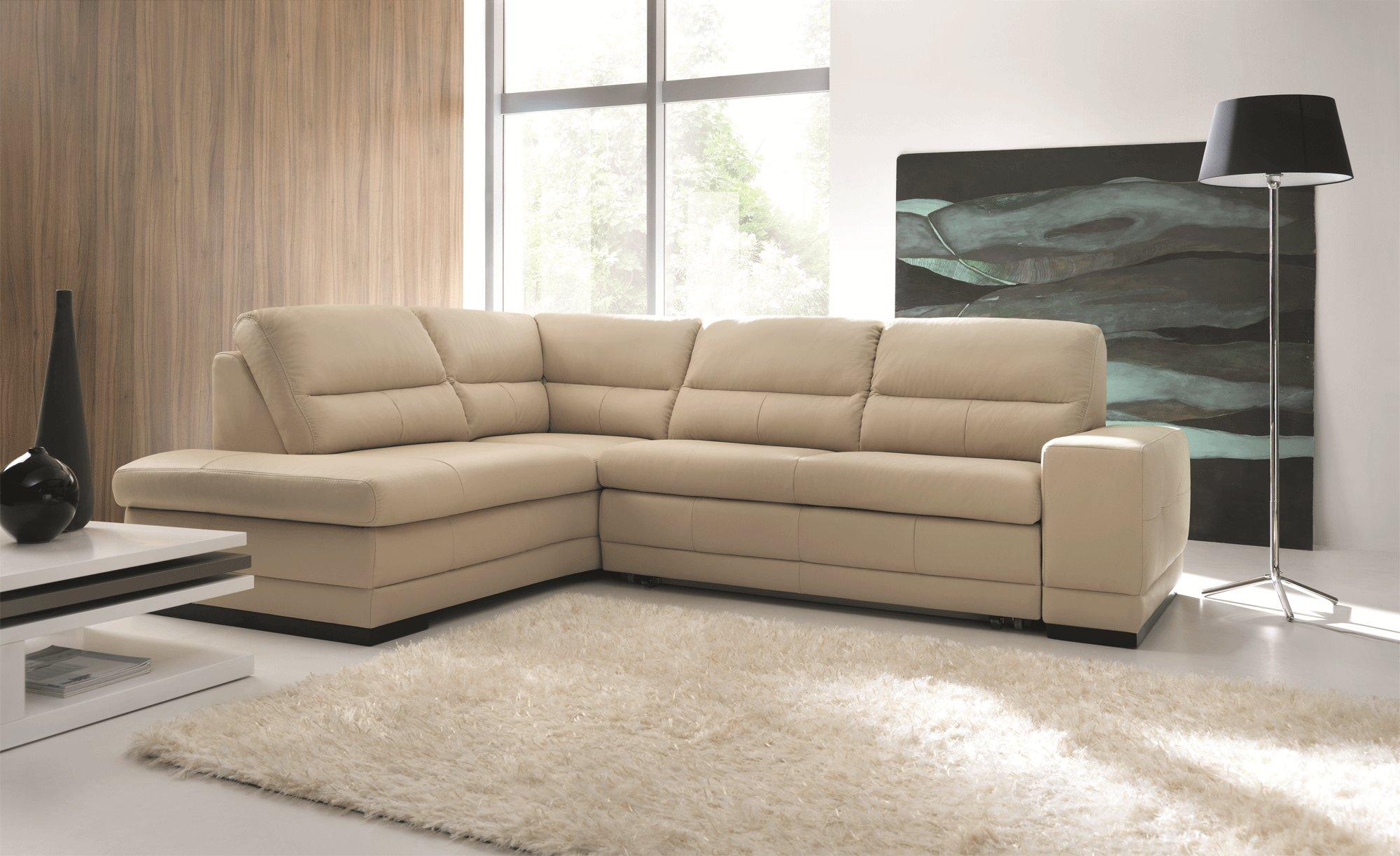 Luxurious Italian Leather Living Room Furniture Baton