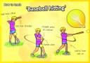 baseball swing how to teach tee ball sport pe kids kindy tennis