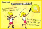 tennis serve how to teach