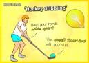hockey dribbling skills pe ball sport pe elementary