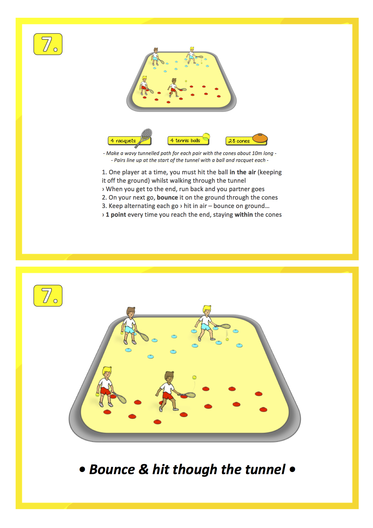 Floor Hockey Worksheet For Students