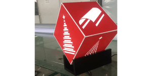 Display Luminoso Corte a Laser