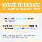 Rotate to Donate at AFP Congress 2014