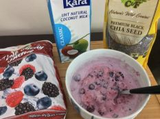 Chia Berry Coconut Milk Magic