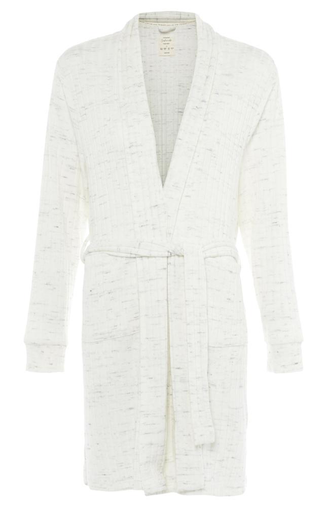 Robe De Chambre Blanche Cotelee Avec Ceinture Pyjamas Femme Mode Femme Notre Gamme Mode Femme Complete Tous Les Produits Primark Primark France
