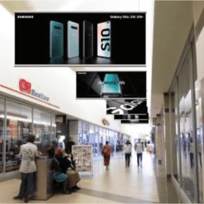 Mall Static – Hanging Banners