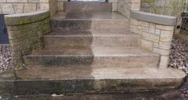 Pressure Cleaning: Driveways, Stairs and Paths: Sydney North Shore and Beaches