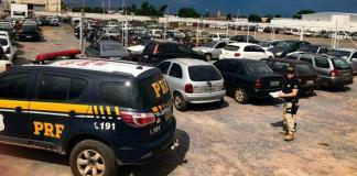 PRF vai leiloar 1.700 veículos no Mato Grosso