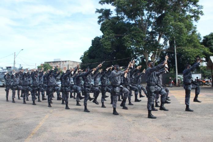 PM forma turma do 22º curso operacional da Rotam