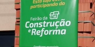 Operário Materiais de Construção participa de feirão e disponibiliza mais de 1000 itens com até 70% de desconto