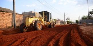 Obras de asfalto no Parque São Jorge seguem em bom ritmo e já tem cinco ruas concluídas