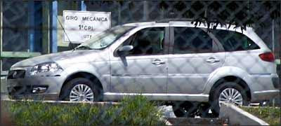 PALIO WEEKEND FLAGRADA SEM DISFARCES