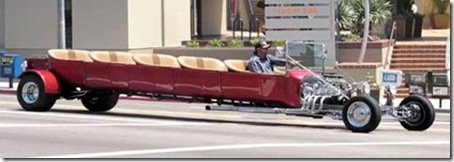 LIMOUSINE HOT ROD
