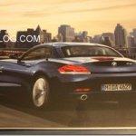 VAZA IMAGEM DE UM FOLHETO DO NOVO BMW Z4