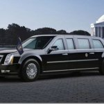 ESTA É A LIMOUSINE DO OBAMA!