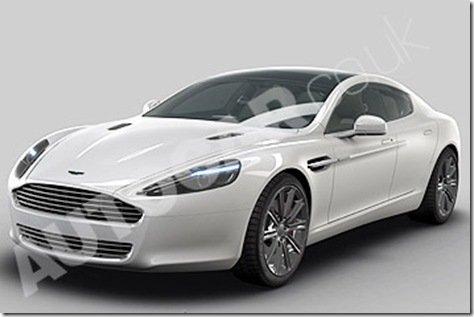 Ilustrações oficiais do Aston Martin Rapide