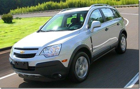 GM apresenta Captiva 2.4 Ecotec, preço parte de R$ 86.990
