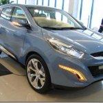 Primeiras imagens do Hyundai ix-onic ao vivo