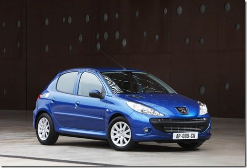 Nosso Peugeot 207 é lançado na Europa como 206 Plus 2009