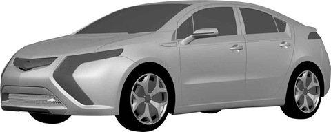 Opel Ampera-Imagens vazam na web!