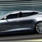 Projeção-Tesla Model S