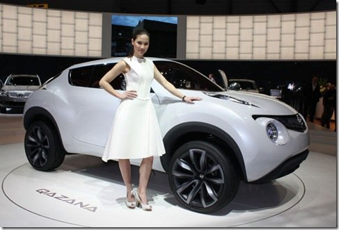 Direto de Genebra – Nissan Qazana