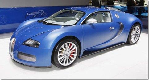 Direto de Genebra – Bugatti Veyron Bleu Centenaire